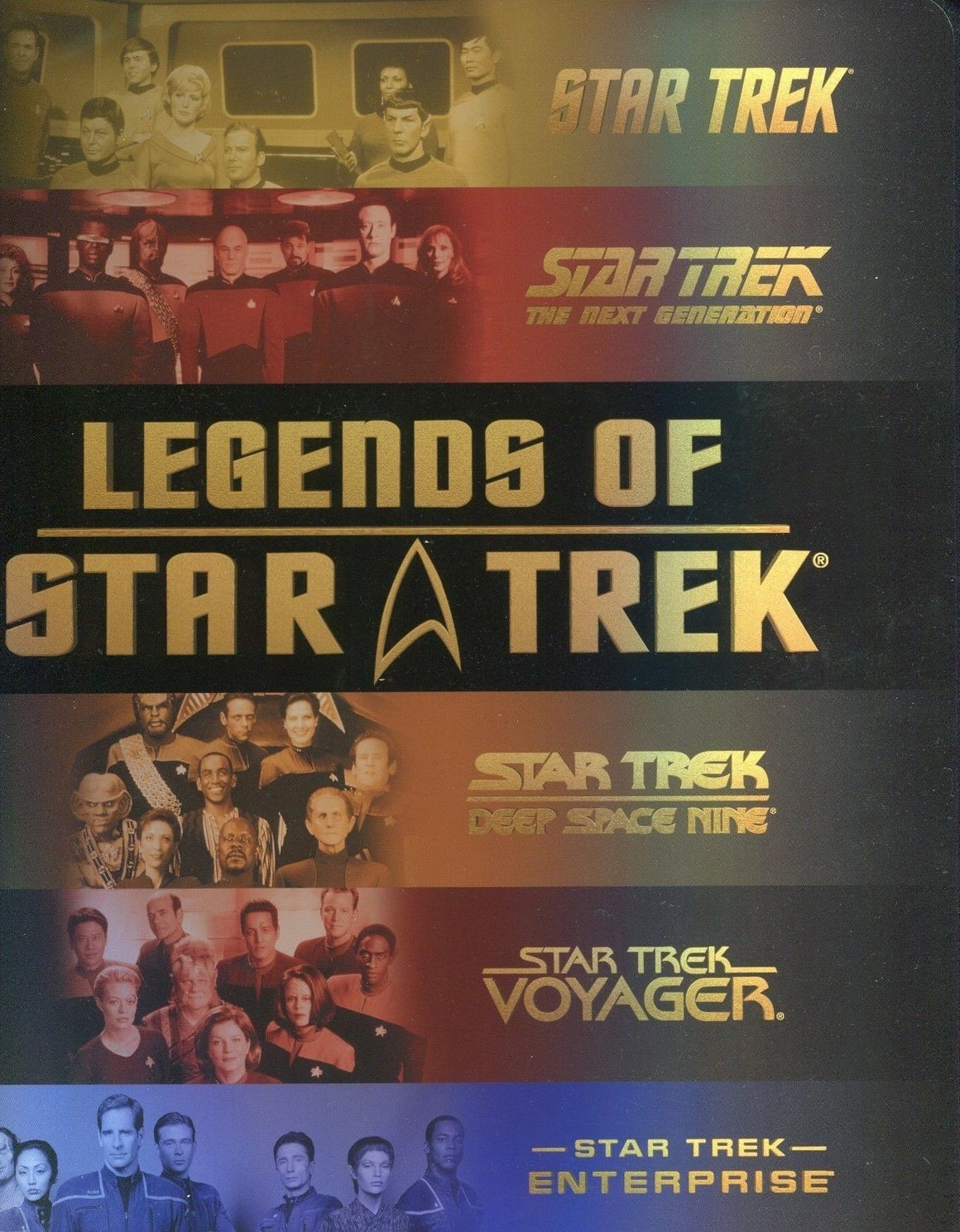 Star Trek Legends of Star Trek Card Album