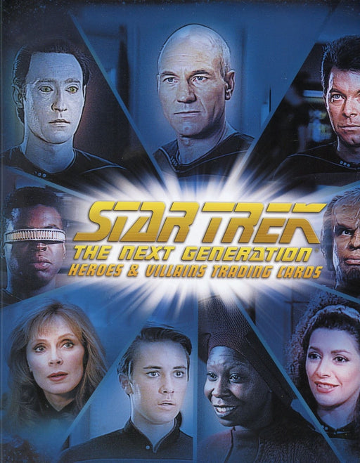 Star Trek The Next Generation TNG Heroes & Villains Card Album   - TvMovieCards.com