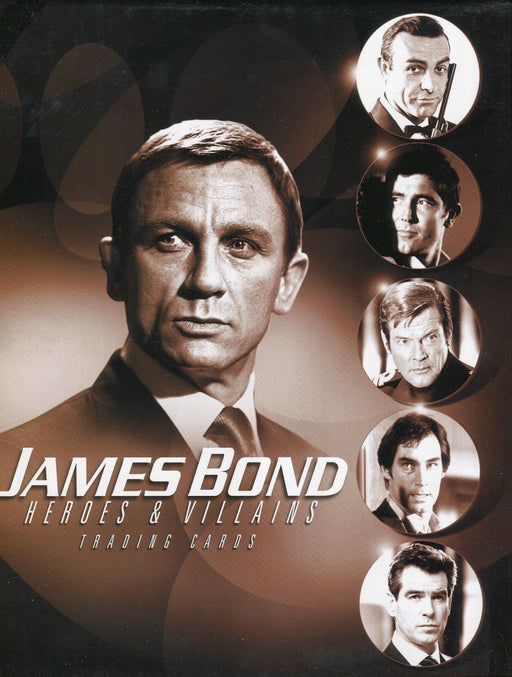 James Bond Heroes & Villains Card Album   - TvMovieCards.com