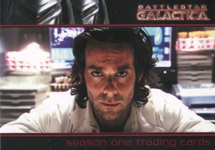 Battlestar Galactica Season One UK Promo Card   - TvMovieCards.com