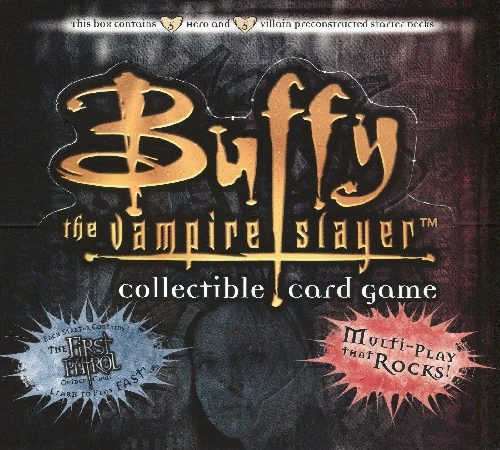 Buffy The Vampire Slayer Pergamum Prophecy CCG Starter Deck Card Box   - TvMovieCards.com