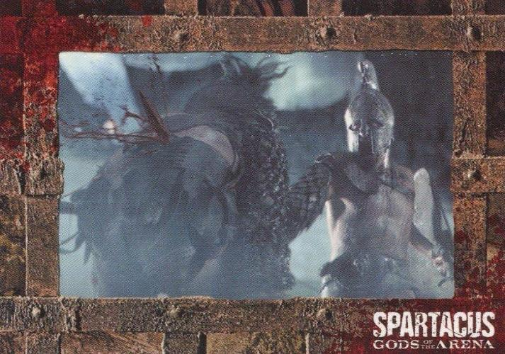 Spartacus Premium Packs Gladiators in Action Chase Card G3 Front