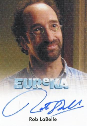 Eureka Seasons 1 & 2 Rob LaBelle as Walter Perkins Autograph Card   - TvMovieCards.com