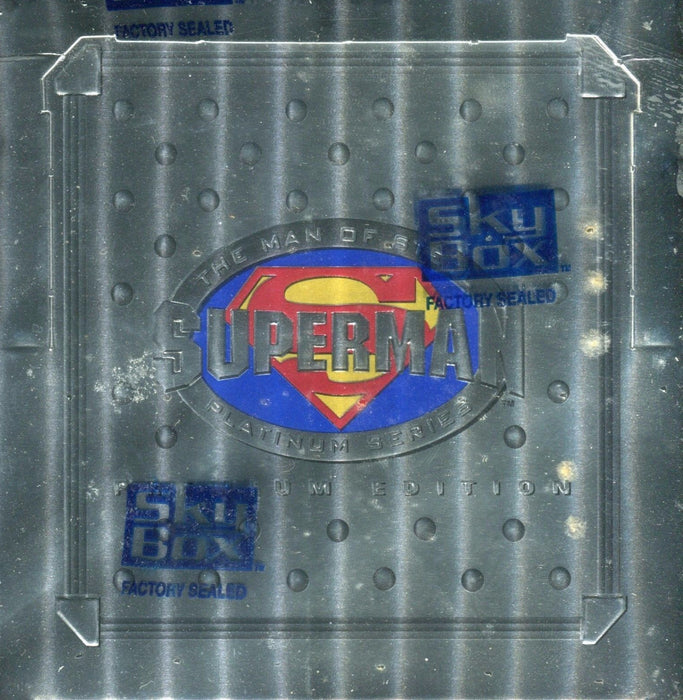 Superman Premium Widevision Card Box DC Comics   - TvMovieCards.com