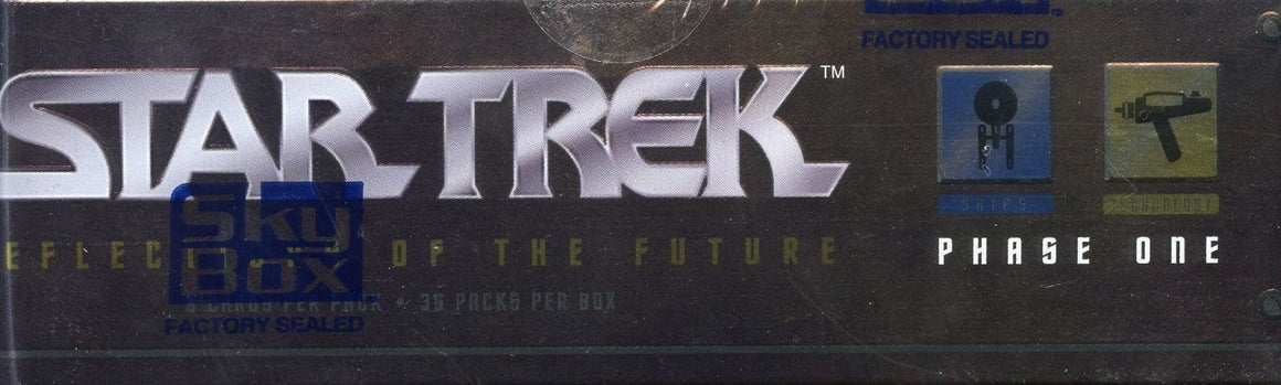 Star Trek 30 Years Phase One Card Box