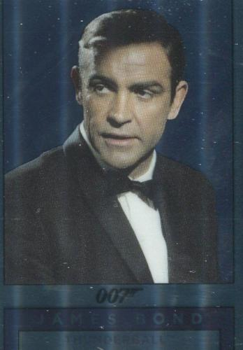 James Bond Classics 2016 Bond & Largo Double Sided Mirror Chase Card M4   - TvMovieCards.com