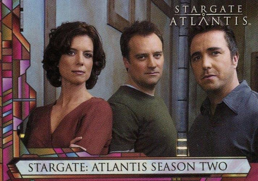 Stargate Atlantis Season Two Promo Card UK   - TvMovieCards.com