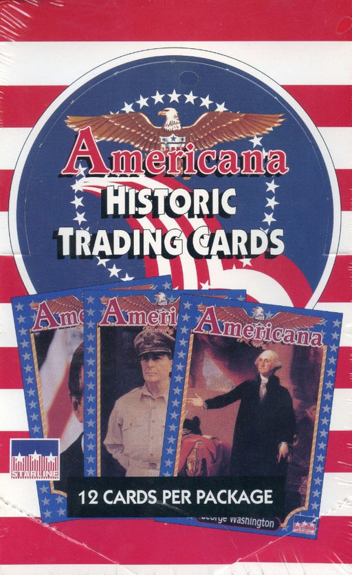 Americana Historical Card Box   - TvMovieCards.com
