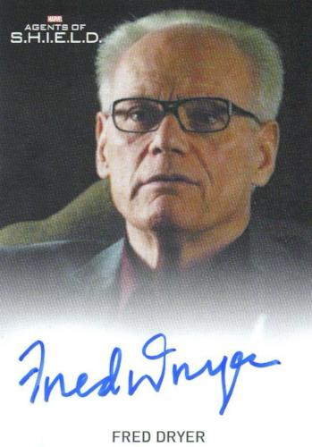 Agents of S.H.I.E.L.D. Season 2 Fred Dryer Autograph Card   - TvMovieCards.com