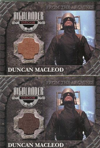 Highlander Complete Adrian Paul as Duncan MacLeod Variant Costume Card Set CC1   - TvMovieCards.com