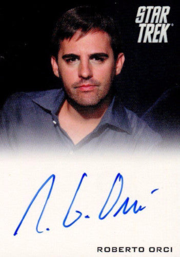 Star Trek The Movie 2009 Writer Robert Orci Limited Autograph Card   - TvMovieCards.com