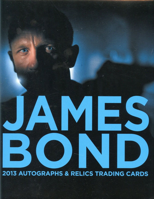 James Bond Autographs & Relics Card Album   - TvMovieCards.com