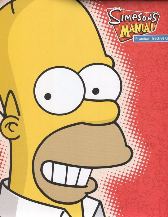 Simpsons Mania Card Album   - TvMovieCards.com