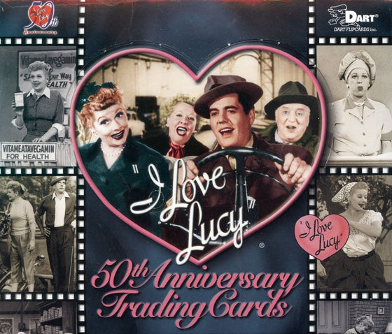 I Love Lucy 50th Anniversary Card Box