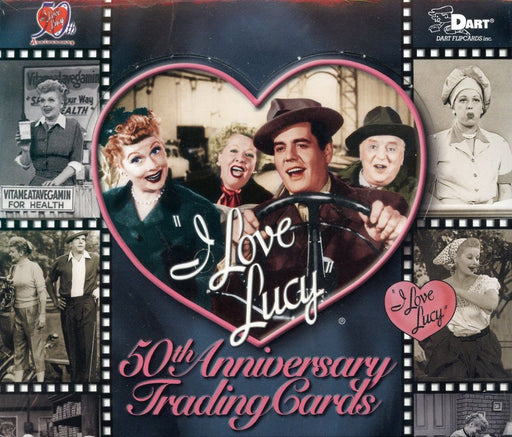 I Love Lucy 50th Anniversary Card Box   - TvMovieCards.com