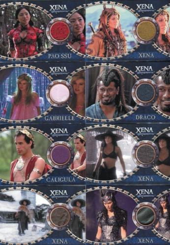 Xena Dangerous Liaisons Costume Card Set 11 Cards   - TvMovieCards.com