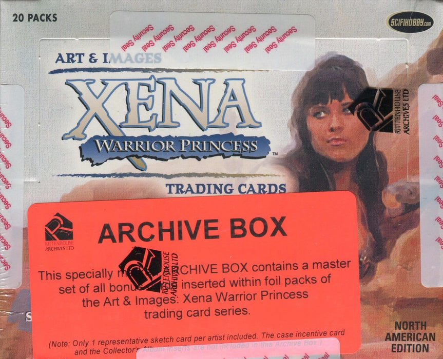 Xena Art & Images Archive Card Box   - TvMovieCards.com