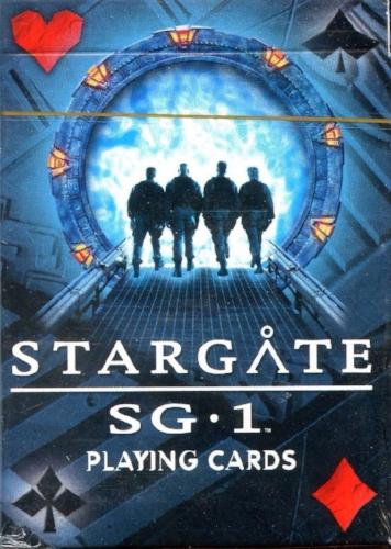 Stargate SG-1 Sealed Playing Card Deck 55 Cards   - TvMovieCards.com