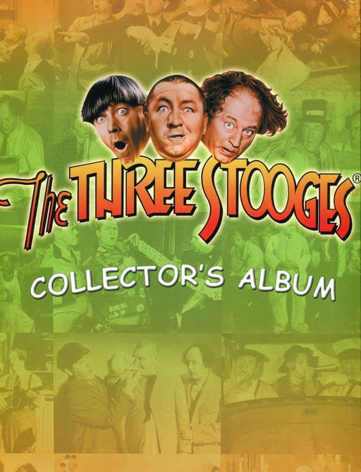Three Stooges Empty Trading Card Collector Album   - TvMovieCards.com