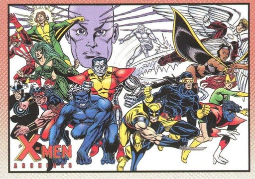 X-Men Archives Promo Card P2   - TvMovieCards.com