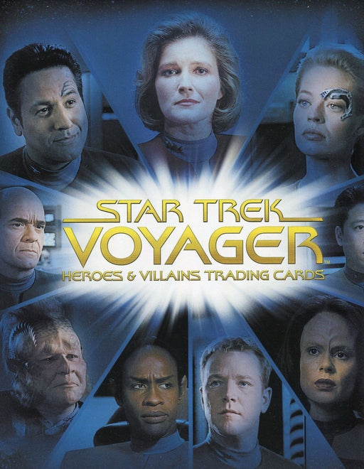 Star Trek Voyager Heroes & Villains Card Album   - TvMovieCards.com