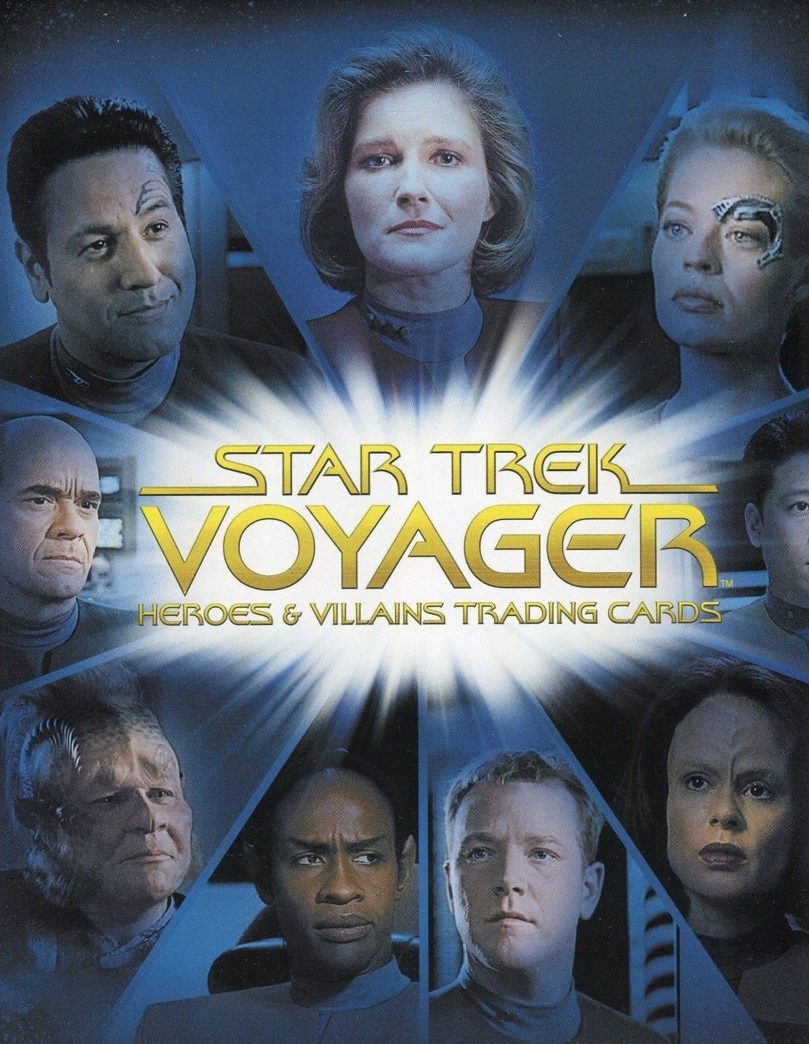 Star Trek Voyager Heroes & Villains Card Album