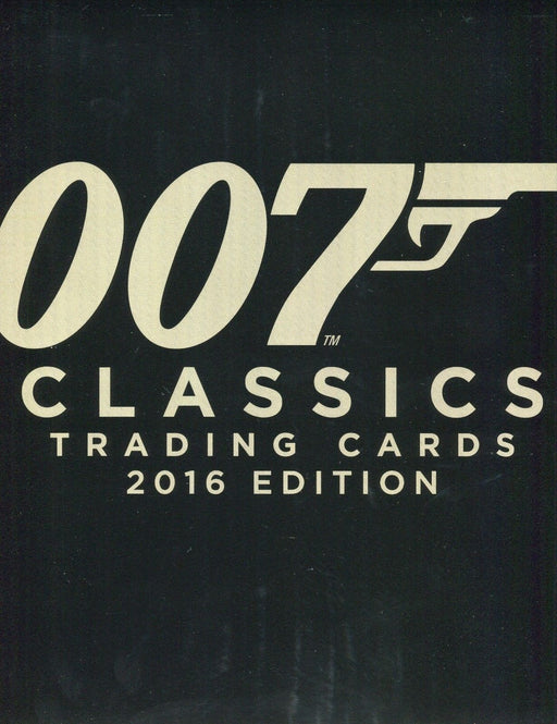 James Bond Classics 2016 Edition Card Album Empty   - TvMovieCards.com