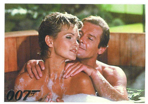 James Bond Dangerous Liaisons Promo Card P2   - TvMovieCards.com