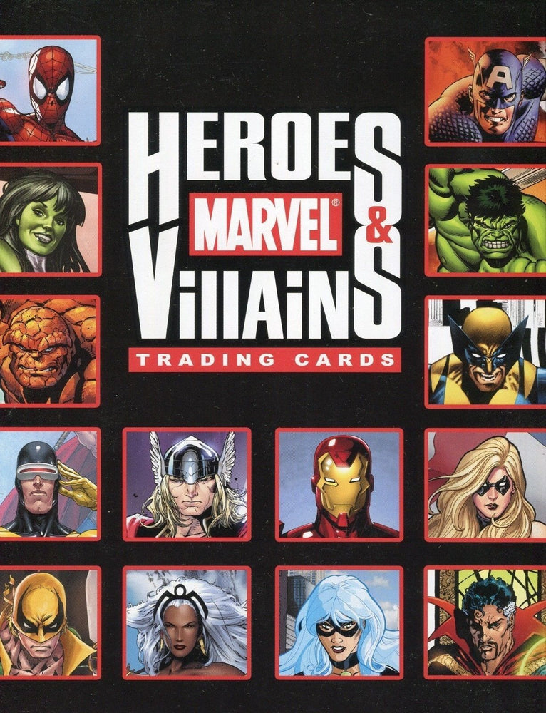 Marvel Heroes & Villains Card Album   - TvMovieCards.com
