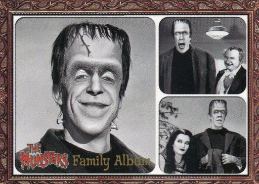 Munsters (2005) Family Album Cast Chase Card F1   - TvMovieCards.com