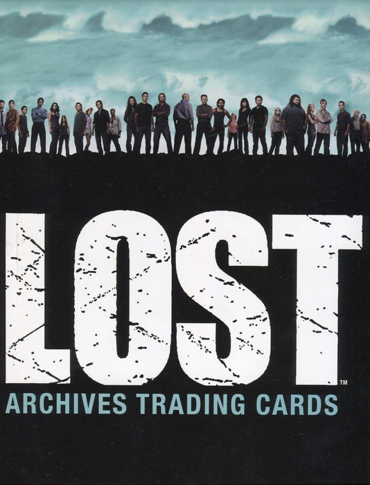 Lost Archives Empty Card Album   - TvMovieCards.com