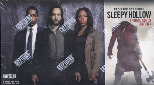 Sleepy Hollow Season One Card Box   - TvMovieCards.com