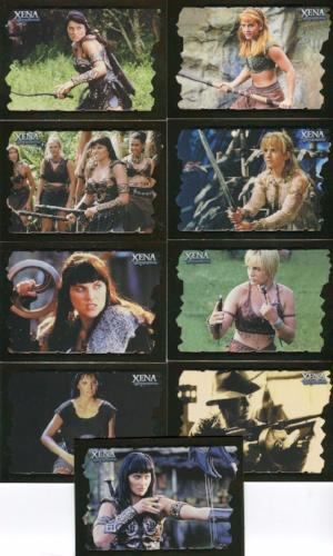 Xena Dangerous Liaisons Women and Weapons Chase Card Set WW1 thru WW18   - TvMovieCards.com
