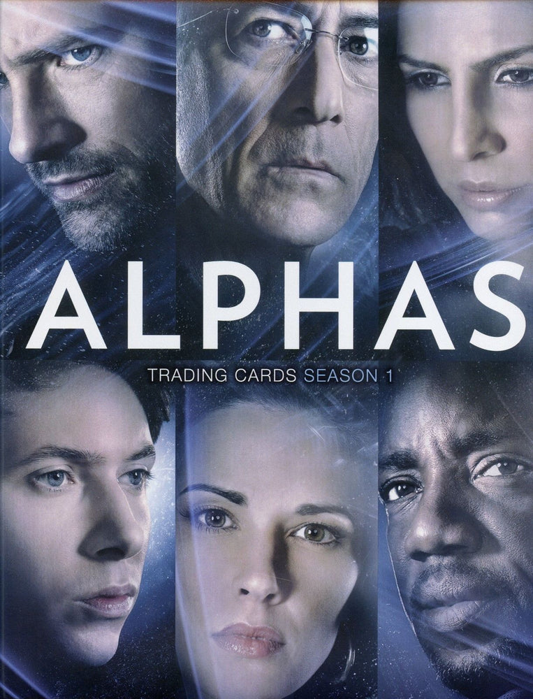 Alphas Season 1 Card Album   - TvMovieCards.com