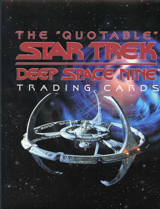 Star Trek Deep Space Nine DS9 Quotable Card Album