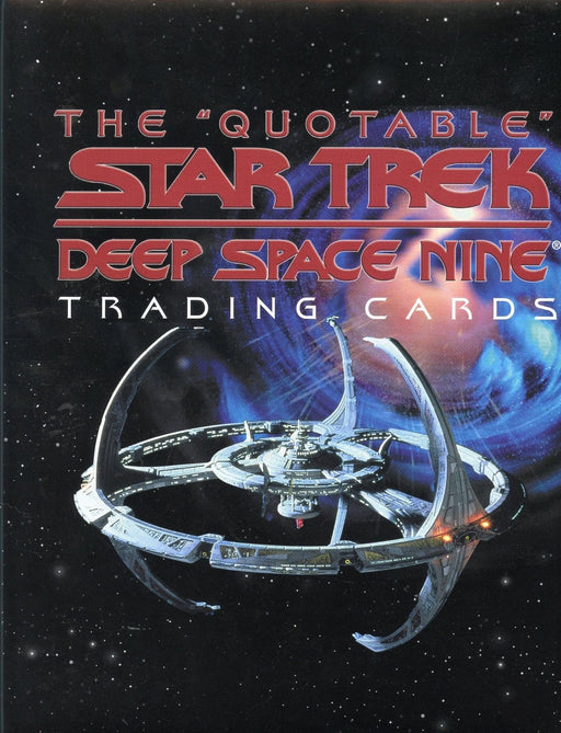 Star Trek Deep Space Nine DS9 Quotable Card Album   - TvMovieCards.com