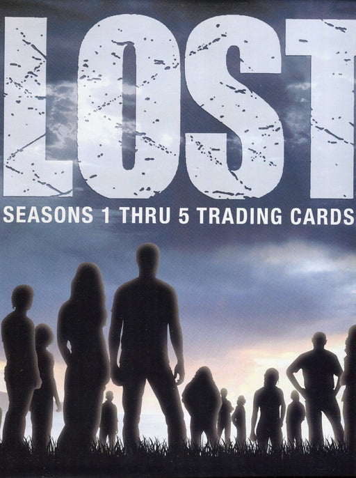 Lost Seasons 1-5 Card Album Rittenhouse 2010   - TvMovieCards.com