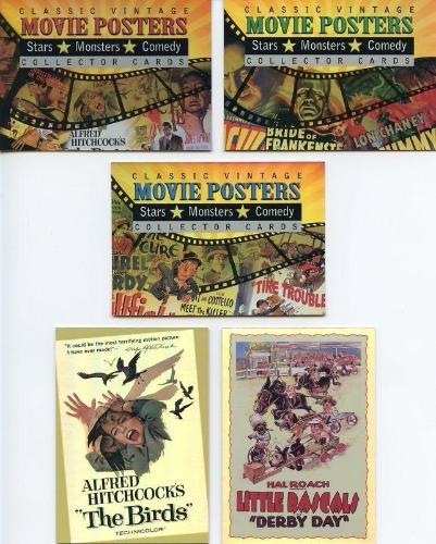 Classic Vintage Movie Posters 2 Promo Card Lot 5 Cards Breygent   - TvMovieCards.com