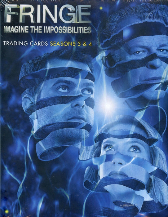 Fringe Imagine the Impossibilities Seasons 3 & 4 Card Album   - TvMovieCards.com