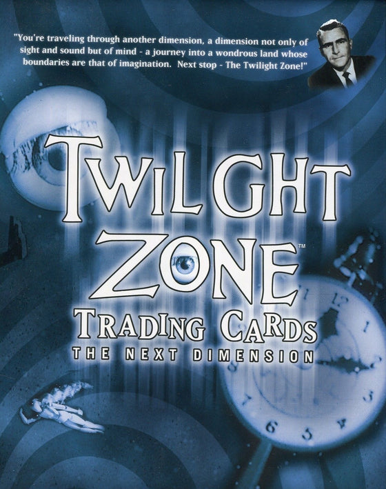 Twilight Zone 2 The Next Dimension Card Album