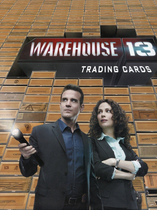Warehouse 13 Season 1 Card Album   - TvMovieCards.com