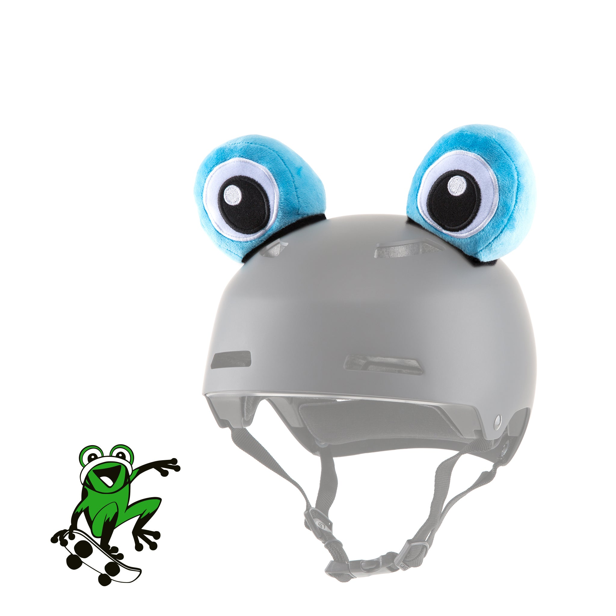 Dardo the Frog Helmet Eyes/Ears/Cover Accessory in Blue