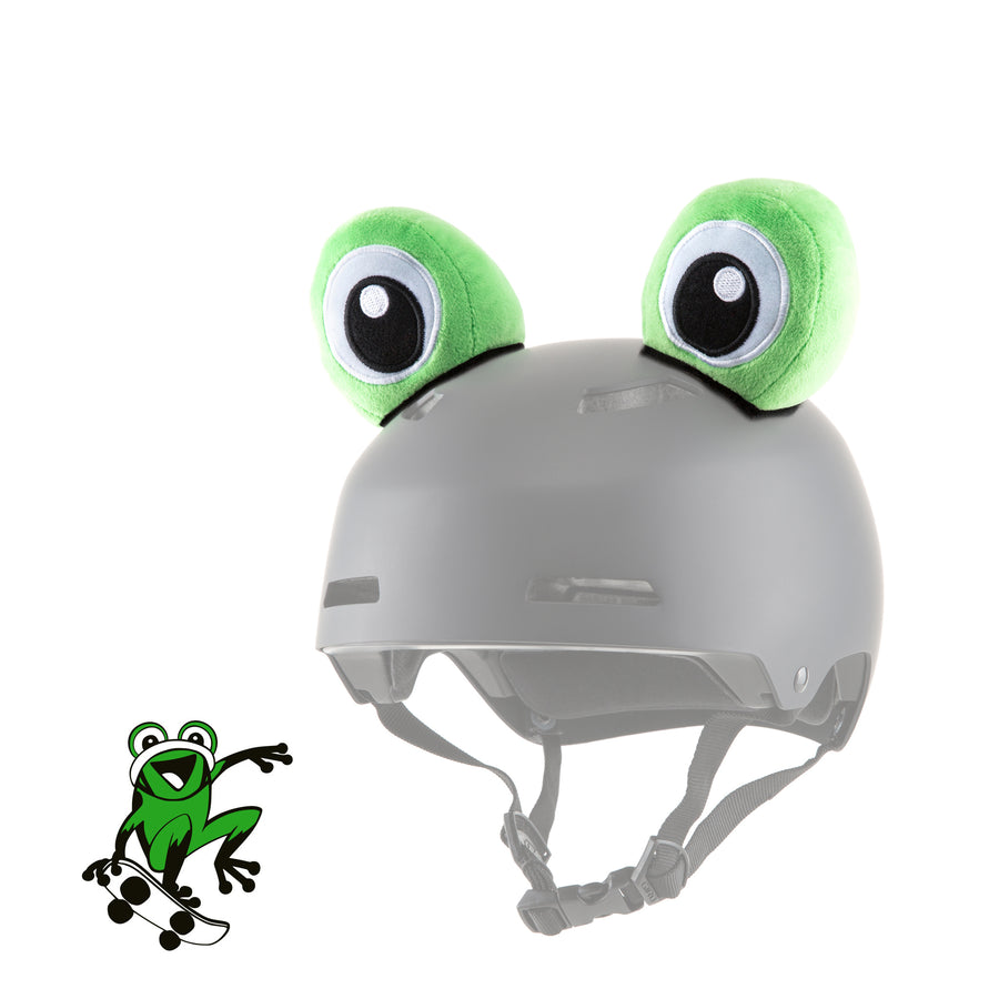Dargo the Frog Helmet Ears/Eyes/Cover/Accessory in Green & Blue