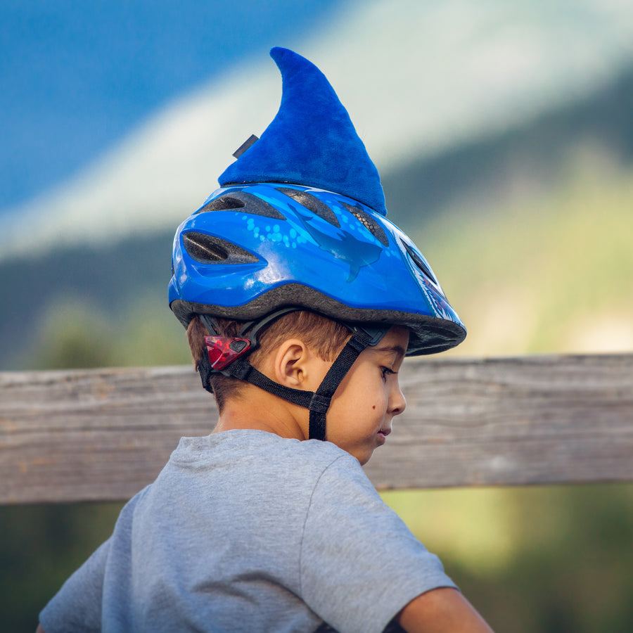 Shaka the Shark Blue Helmet Fin Accessory
