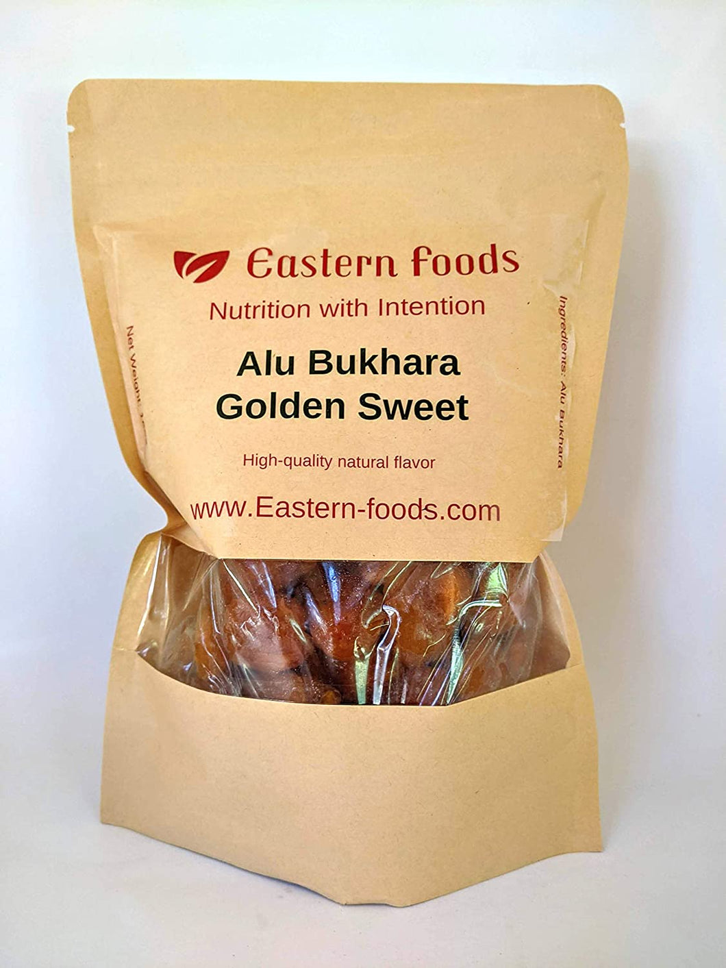 Eastern Foods Golden Aloo Bukhara Dried Plum, 1 lb. 1 lb Golden ALU BUKHARA DRY - DRY Golden PLUM - Golden ALOO BHUKARA- Golden ALU BOOKHARA