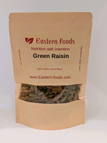 Eastern Foods Green Raisin Sundorkhani, 1 lb, green grape raisins
