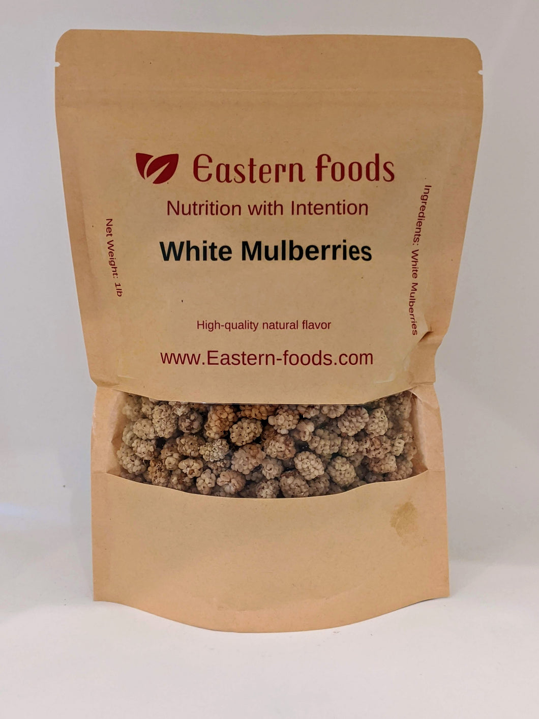 Eastern Foods White Mulberry, 1lb,