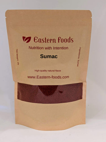 Eastern Foods Sumac, 1 lb Ground Sumac. Pure Sumac Spice 1 Pound Ground Sumac