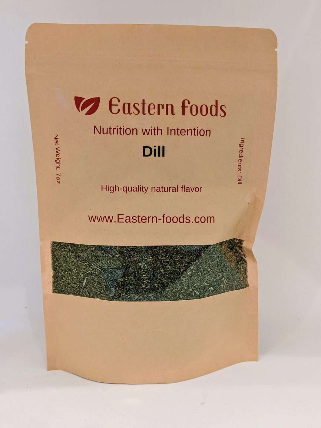 Eastern Foods Dill Weed, 7 oz - High Quality Dried Chopped Dill Weed