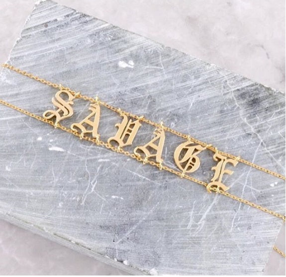 English Name Choker